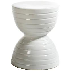 Bout de canapé spool céramique