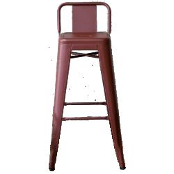 Chaise haute tolix acier