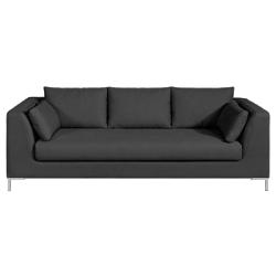 Canapé fixe jim, toile coton/lin