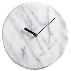 Horloge gemma, en marbre