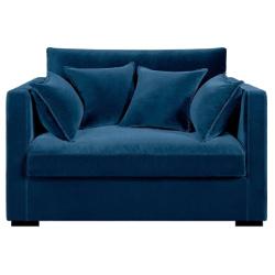 Canapé fixe néo kinkajou, velours