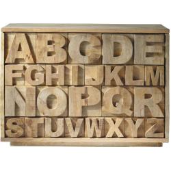 Cabinet alphabet
