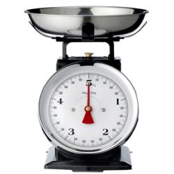 Balance de cuisine en métal vintage