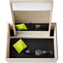 Boîte de rangement avec miroir balsabox