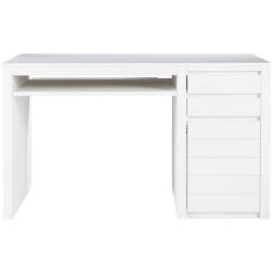 Bureau white blanc en bois