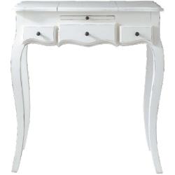 Coiffeuse mathilde blanc en bois