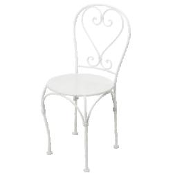 Chaise en fer forgé saint-germain