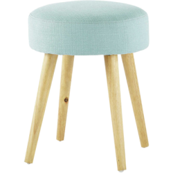 Tabouret pin up bleu