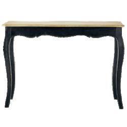 Table versailles noir