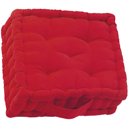 Coussin inspire rouge rouge