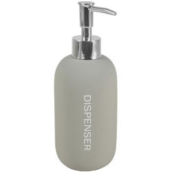 Distributeur à savon bubble gum gris galet