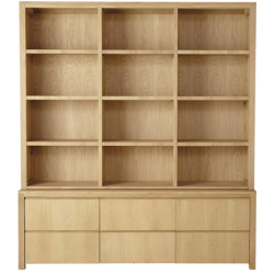 Bibliothèque danube chêne