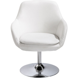 Fauteuil ginko blanc