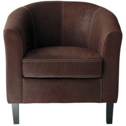 Fauteuil baltimore marron