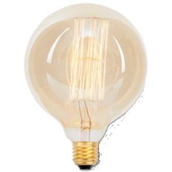 Ampoule avec filament en carbone e27/60w