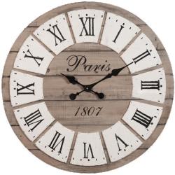 Horloge honoré en bois