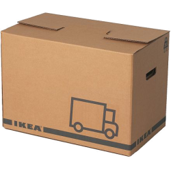 Jättene - carton d'emballage