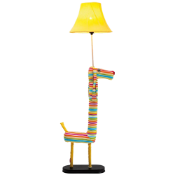 Lampadaire dog stripes