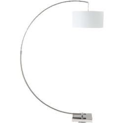 Lampadaire urban blanc