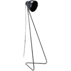 Lampadaire ziggy noir métal
