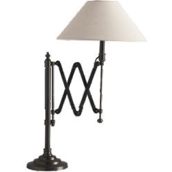 Lampe cologne métal