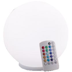 Lampe palla verre blanc