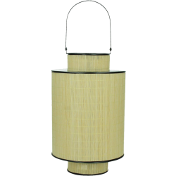 Lanterne à suspendre en bambou hino