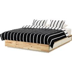 Mandal - cadre lit avec rangement