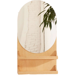Miroir étagère viggo