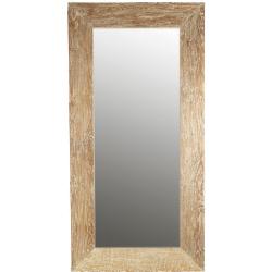 Miroir cancale blanc en bois
