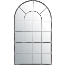 Miroir arcade métal