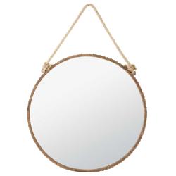 Miroir cabine rouille métal