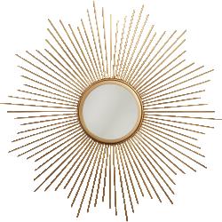 Miroir soleil métal