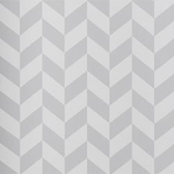 Papier peint motif géométrique gris angle ferm living