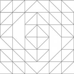 Papier peint graphique gris resibis
