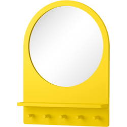Saltröd - miroir avec tablette et crochets
