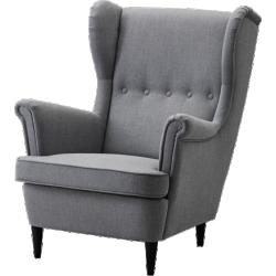 Strandmon - fauteuil à oreilles