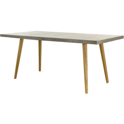 Table en béton et bois beton