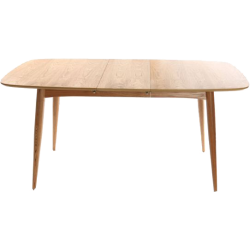 Table à manger extensible frêne naturel nordeco