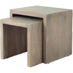 Bout de canapé baltic en bois