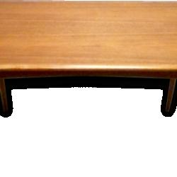 Table basse en bois classique