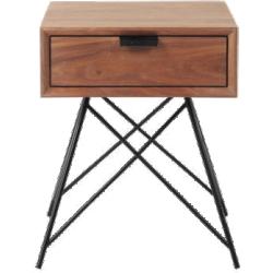Table de chevet berkley noyer