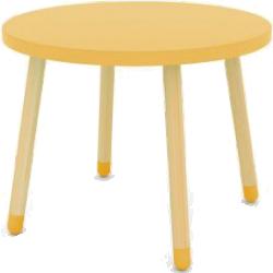 Table de jeu enfant jaune ludik