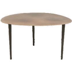 Table haricot dorée