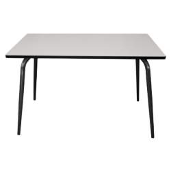 Table vera - gris perle/pieds bruts