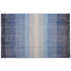 Tapis boston bleu