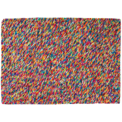 Tapis rainbow multicolore