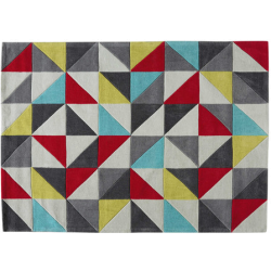 Tapis colors multicolore