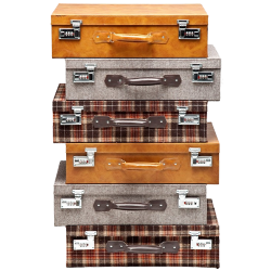 Commode highlands suitcase