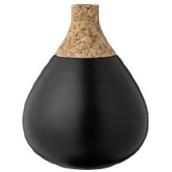 Vase en céramique et embout en liège bloomingville